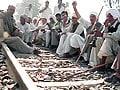 Video : Jat agitation in Haryana disrupts train traffic