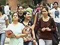 Video: Delhi University's second cut-off list offers little hope