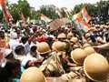 Video : BJP's turn to march against Mayawati in Lucknow