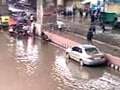 Video: Delhi flooded by record rain, traffic stalled