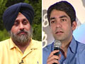 Badal, Bindra back NDTV