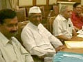 Video : Team Anna vs Govt: What happened at the Lokpal meetings