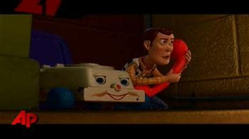 Video : 'Toy Story 3' stars on their favourite childhood toys